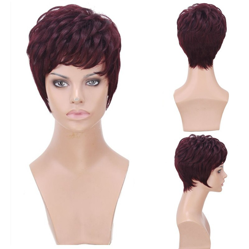 40 latest short hairstyles for black women short hairstyles - Cheap Wholesale China Short Lace Front Full Lace Wig