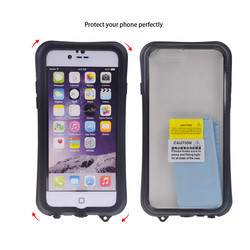 Newest Protective Ip-68 Waterproof Phone Case for Iphone 6 with Muti-colors (Necked, 4.7 Inches