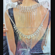 Hot Selling Wholesale Body Chains For Women Drill Jewelry Sets, Rhinestone Body Jewelry