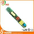 shenzhen caliente pc fuente de alimentación 12w 22w 30w 40w del tubo del led del controlador