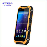POS terminal A9 rugged smartphone with NFC function 4.3inch android4.4 MTK6582 waterproof mobile phone no brand android phones