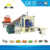 Auto brick machine for bangladesh QTYF4-15 automated brick factory