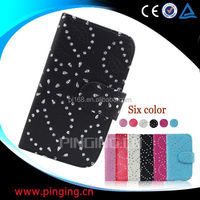 china supplier phone cases snow flower cover leather case for Samsung galaxy Star 3 Duos s5222