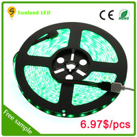 Factory Directly Price SMD5050 RGB LED Strip Light waterproof with 2 connectors