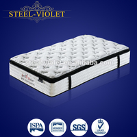 Hotel Single Size Luxury Compressed High Density Spring Bed Mattress