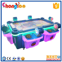 Happy Fishing Arcade catch Fish Redemption Game Machine With Bill Acceptor
