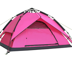 SE113090 3-4 Person Hydraulic Camping Tent, Rain-proof Camping Tent