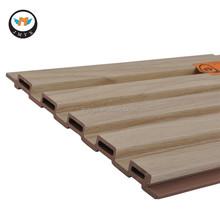 Ecological Wood-plastic Composite WPC Wooden Slats for Walls