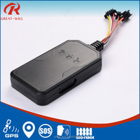 built-in double antennas mini sim card vehicle car gps tracking device