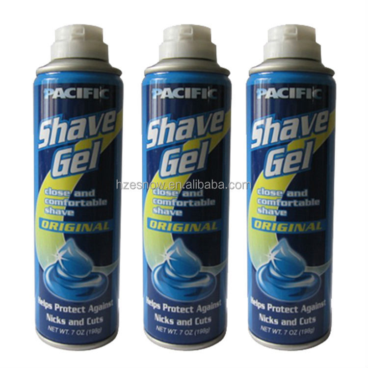 200ml (7oz) aerosol delay foaming shaving gel OEM