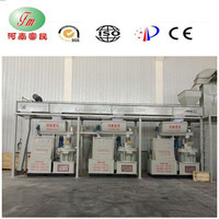 Direct Manufacturer & On-site Installation Customized Capacity machine to make the pellet