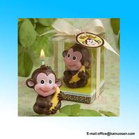 Wholesale Monkey Design Candle Gifts Animal Shaped Candle