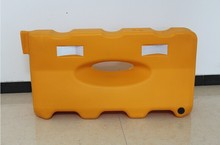 One hole water filled barrier Plastic Road Traffic Barrier