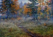 2015 New Forest Landscape Painting Art Decoration
