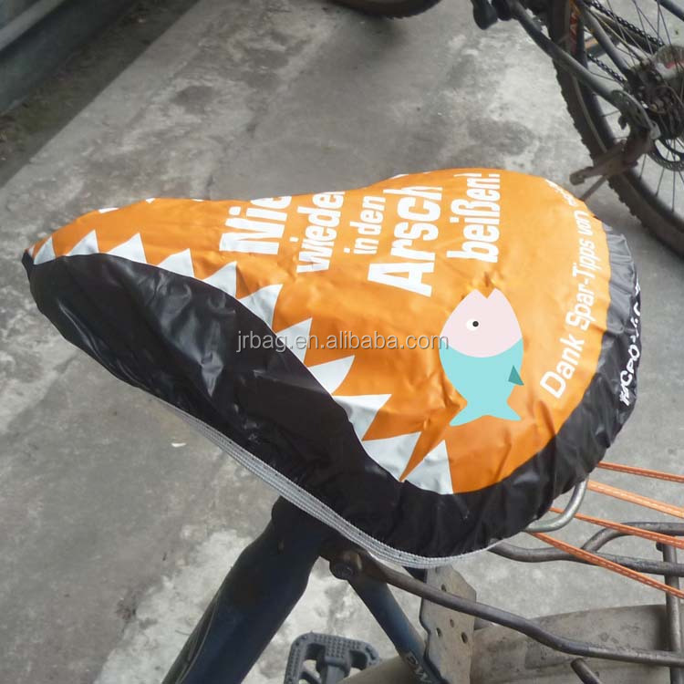 Promotional funny waterproof pvc bike seat covers