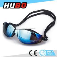 Made in China super comfortable rainbow coating cheap price swim goggle