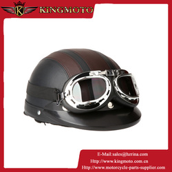 Motor Cross Off Road Helmet Vintage Style Open Face Half Motorcycle Motorcycle Helmet & Goggles & Visor