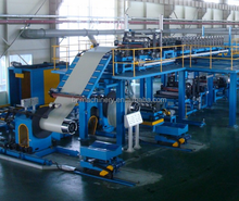 corrugated steel sheet/shingle production line/roof covering