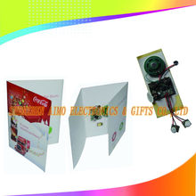 10S voice recording greeting card with MIC