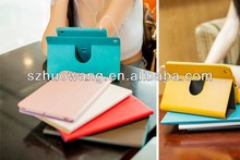 Hot Swivel PU Leather 360 Degrees Rotating Case for ipad Air
