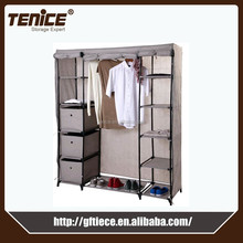Tenice new walmart ikea fabric portable wardrobe closets design