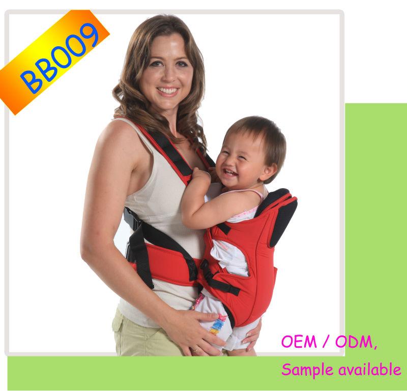 Mochila Portabebés Bebesit Soft con cintas, dumiendo el bebé confortamente