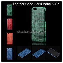 Factory Wholesale for iPhone 6 Case , Luxury Crocodile Leather Phone Case for iPhone 6