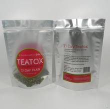 food packaging/green apple flavor sachet/mini ziplock bag with printed