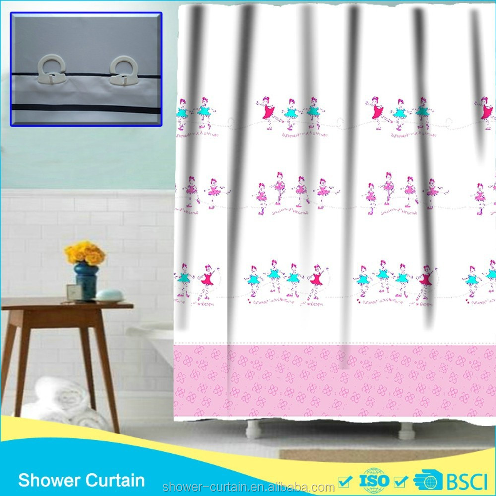 Hookless Printing Dancing Girls Shower Curtain Buy