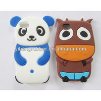 Dairy cow animal silicon case for iPhone 4 & 4S