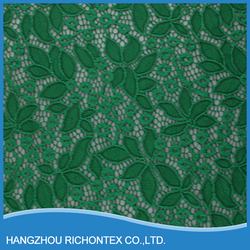 Top-one China Nylon Cotton Best Price Flower Lace Fabric