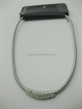 crystal band choker necklaces