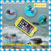 Trending products hard plastic waterproof and shockproof case for iphone 6