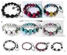 made in China handmake shamballa bracelets jewellry