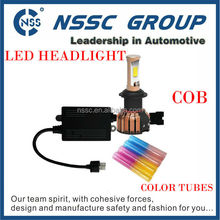 Car accessories NSSC new product high power auto car led headlight h7 h4 h11 h16 9004 9007 9005 9006 9012