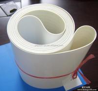 Food Grade Material Flat Belt Conveyor PU PVC Belt