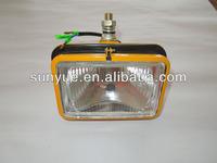 Replaceable Iron square H4 PC200-5 Lamp for Komatsu excavator 203-06-56140