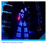 Party concert Dancing Robot LED robot clothing