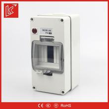 Low price FSCBN series waterproof circuit breaker box IP66 1gang/2gang/3gang/4P/4gang/6gang/8gang surface mount enclosure