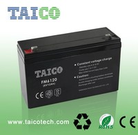 abs container 6v 12ah battery agm solar insecticidal lamp battery