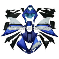 For Yamaha YZFR1 YZF R1 2009-2012 2010 2011 Blue ABS Plastic Fairing Body Work