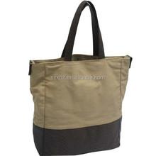 Canvas Cotton Lunch Bag Tote Handbag Diaper Shopping bag
