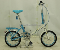 "16"" LIGHT WEIGHT SINGLE SPEED MINI FOLDING BIKE"