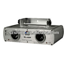 DOUBLE Purple laser light show system/Dancing laser light