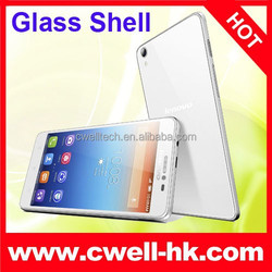 5 Inch Screen Glass Shell Unlocked Lenovo S850 13MP Camera Android Mobile Phone