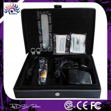 Electric Digital Permanent Makeup Machine Kit With 6 LED light Speed control Eyebrow Lip Body Tattoo Machine Pen