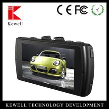 2015 car black box 1080P full HD sunplus chips car dvr with Wide dynamic GPS, g-sensor,back up camera input