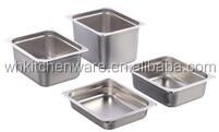 Heavy duty all ue taille en acier inoxydable gn Pan