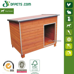 High Quality Wooden Dog House Flat Dog Houses For Sale DFD007