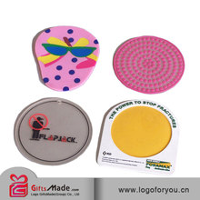 2014 JK-22-10 fashion non-slip red wine glass silicone cup coaster,pvc coaster